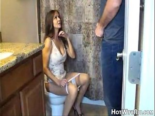 HotWifeRio Mommy pissed after she jerk his son. Handjob
