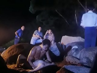 Hot Chinese girl forced to fuck by several guys