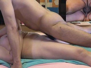 Mature - orgasm and internal ejaculations