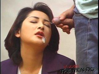 Japanese bukkake uncensored