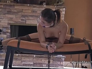 After work dude fucks his bdsm sex toy
