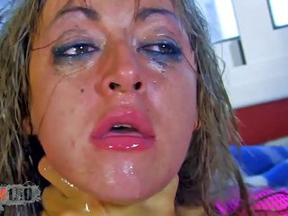 Hot housewife brutal fucked