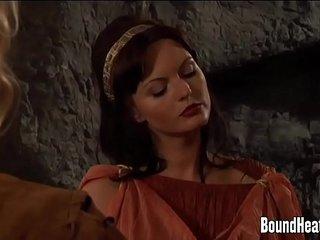 Slave Tears Of Rome II: Enslaved Girl Sold Into Slavery